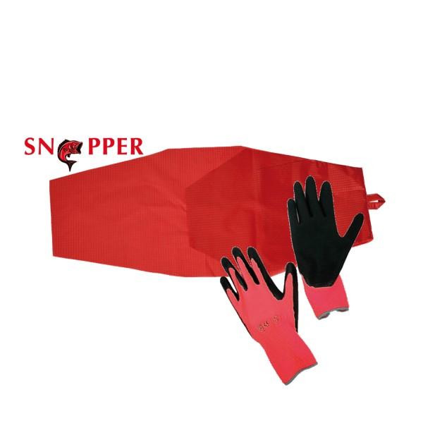 Snapper Anziehhilfe inkl. TOP-GRIP Strumpfhandschuhe