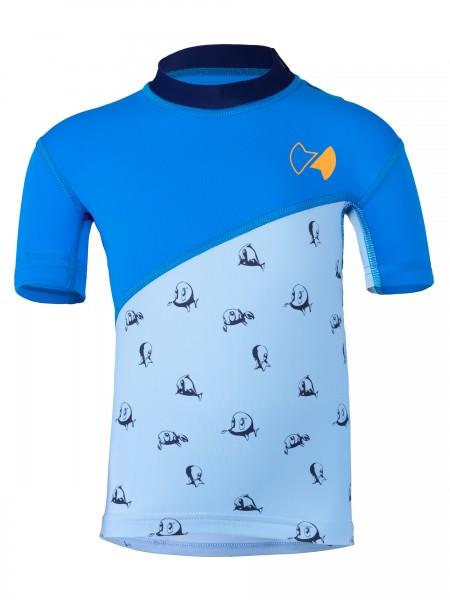 BABY Kurzarmshirt repa cielo pid blue