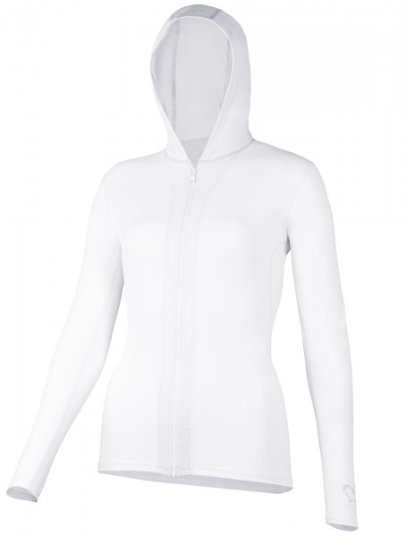 WOMEN Kapuzenjacke white