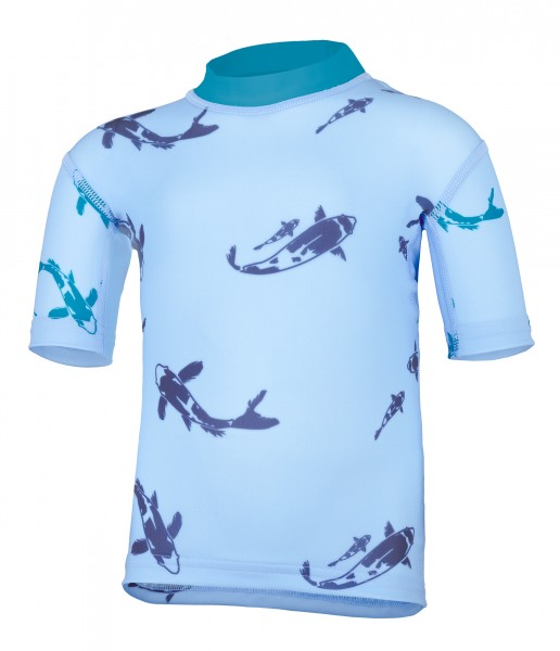 BABY Kurzarmshirt kois pid blue