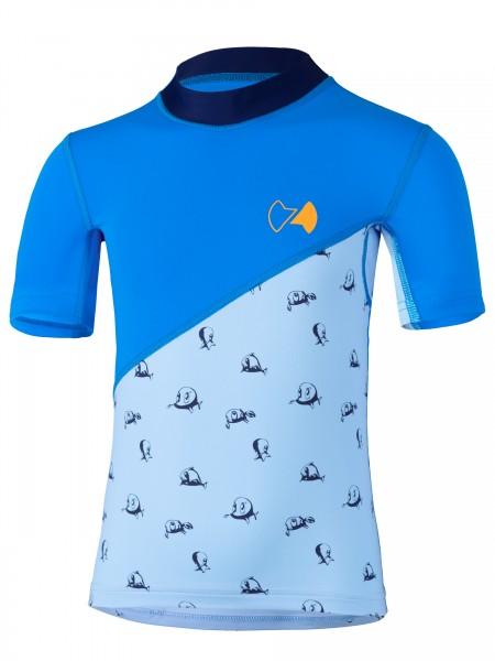 KIDS Kurzarmshirt repa cielo pid blue